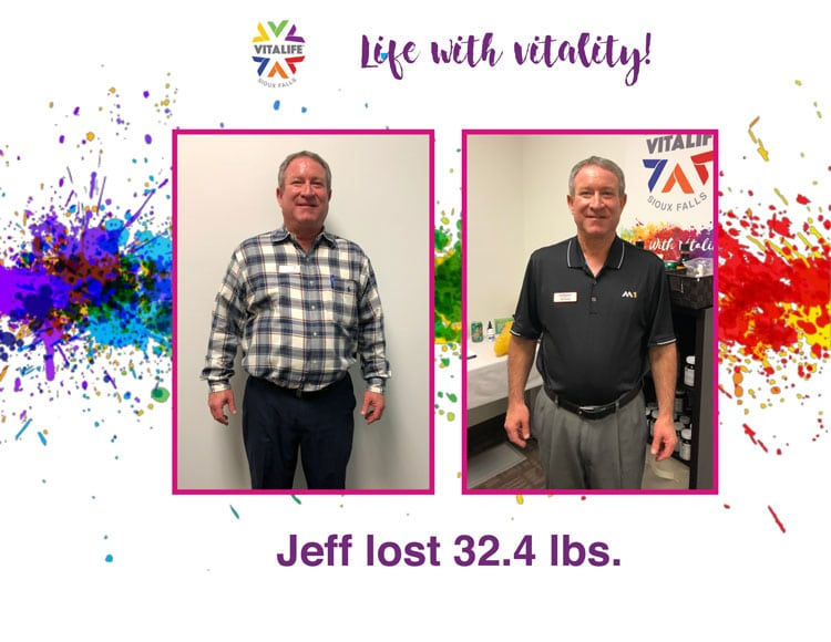 VitaLife Sioux Falls Weight Loss Success